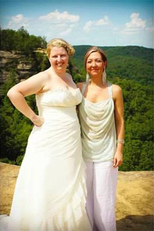 Natural Bridge wedding