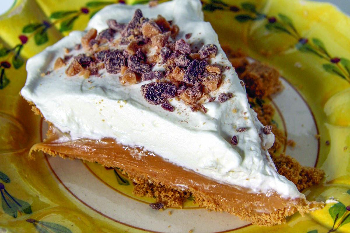 Big Blue Smokehouse caramel pie, photo: Edis Celik