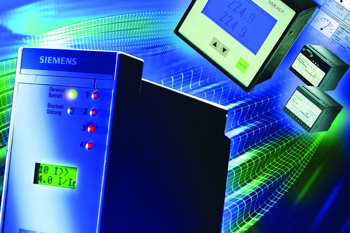 Siemens power grid control devices