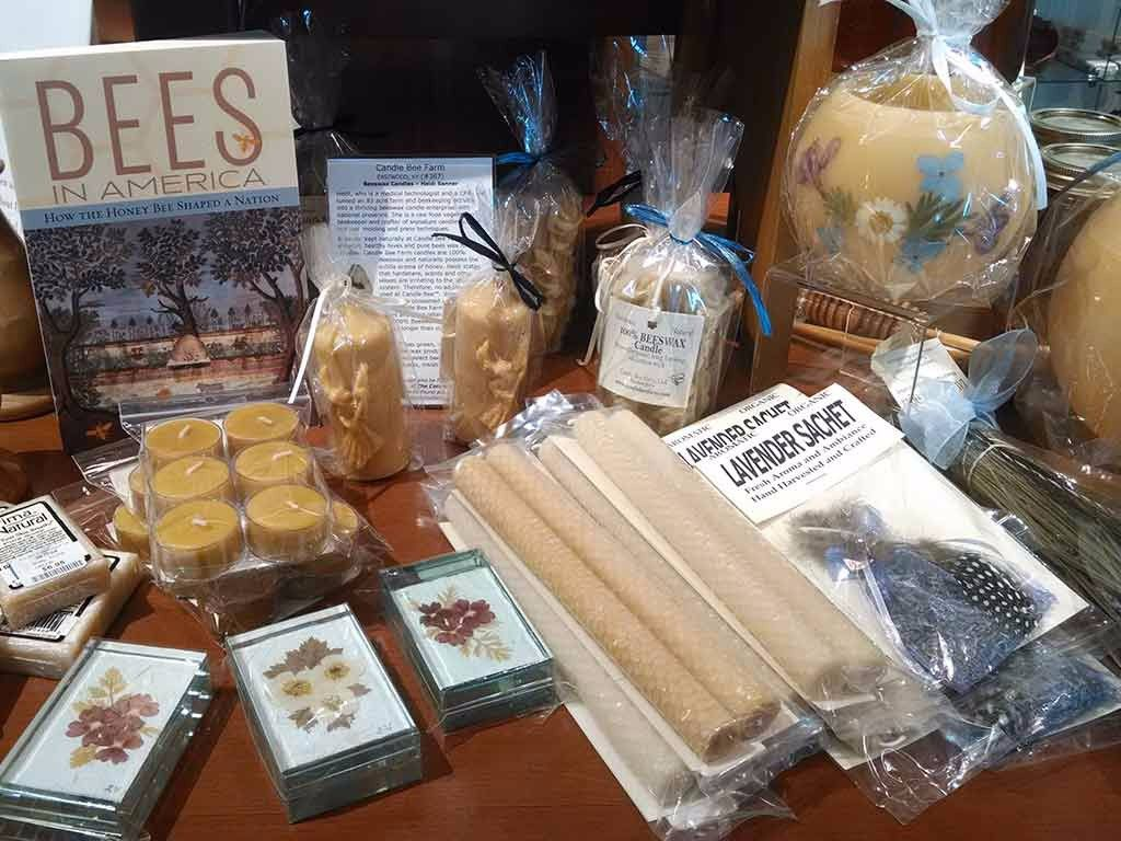 Natural and organic products from Candle Bee Farms