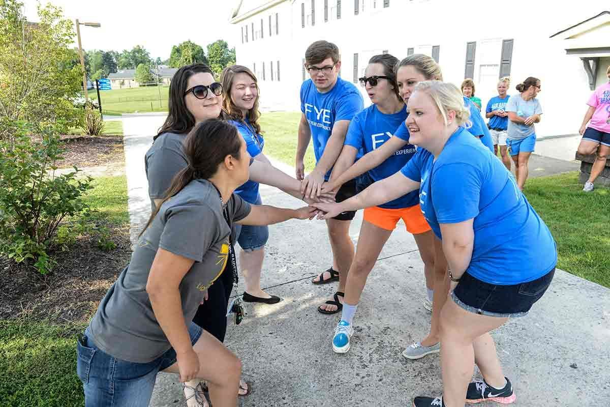 Lindsey Wilson College First Year Experience participants