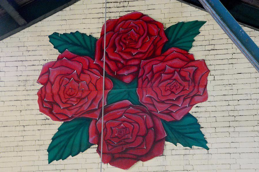 Four Roses Fermenting Room Wall Mural