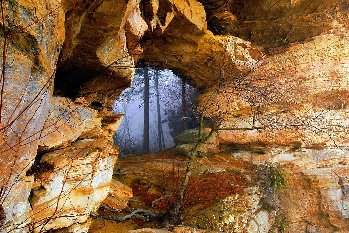 Red River Gorge Double Arch