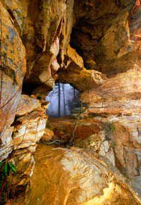 Red River Gorge's Double Arch. Photo: John Snell
