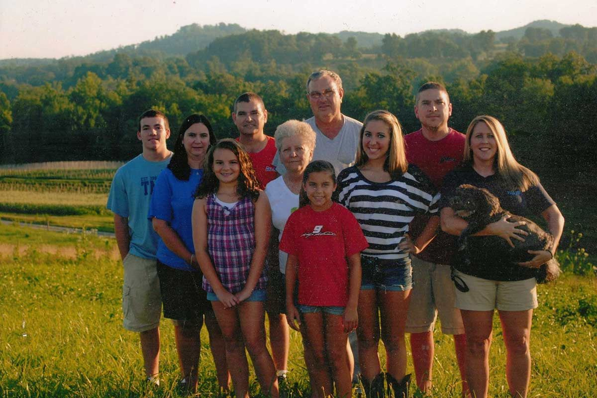 The Hail Family owners of Hail's Farm