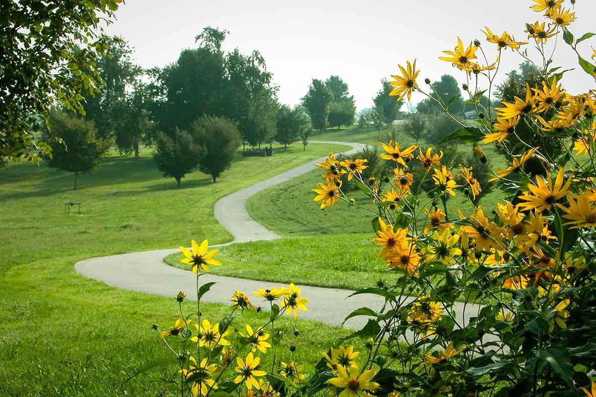 The Walk Across Kentucky Garden
