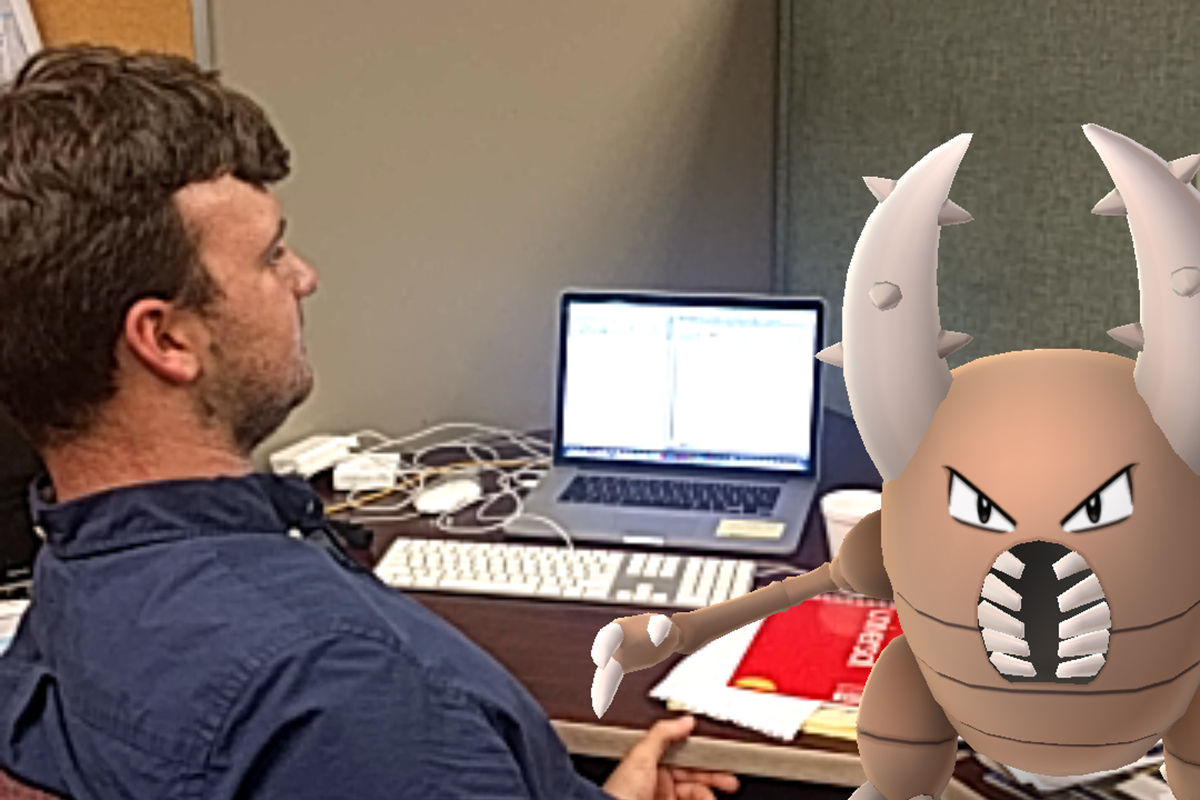 """Sorry I missed the story deadline, there was a Pinsir tearing my notes up!"""