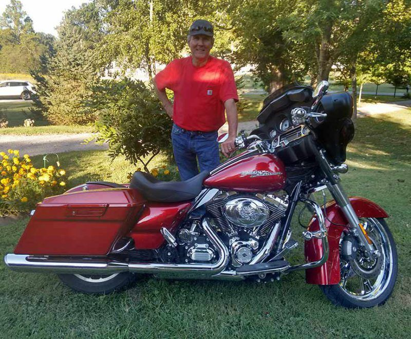 Danny and his bagger