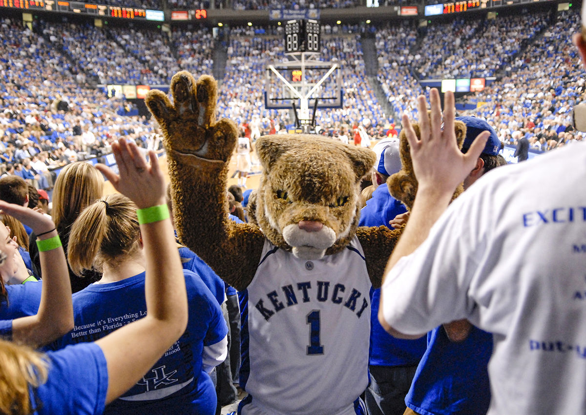 University of Kentucky's Wildcat Mascot