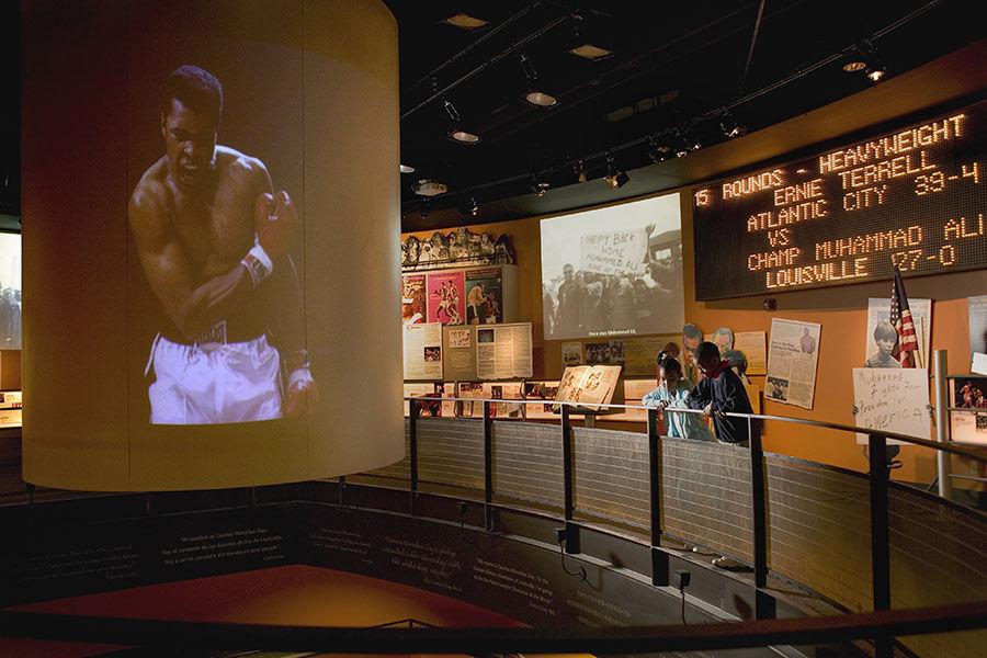 Muhammad Ali Center projection