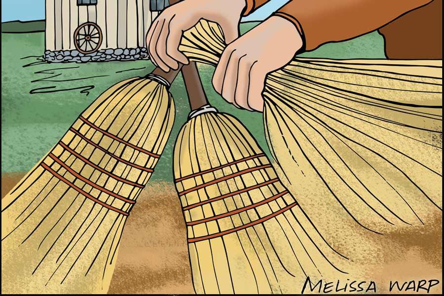 broom man