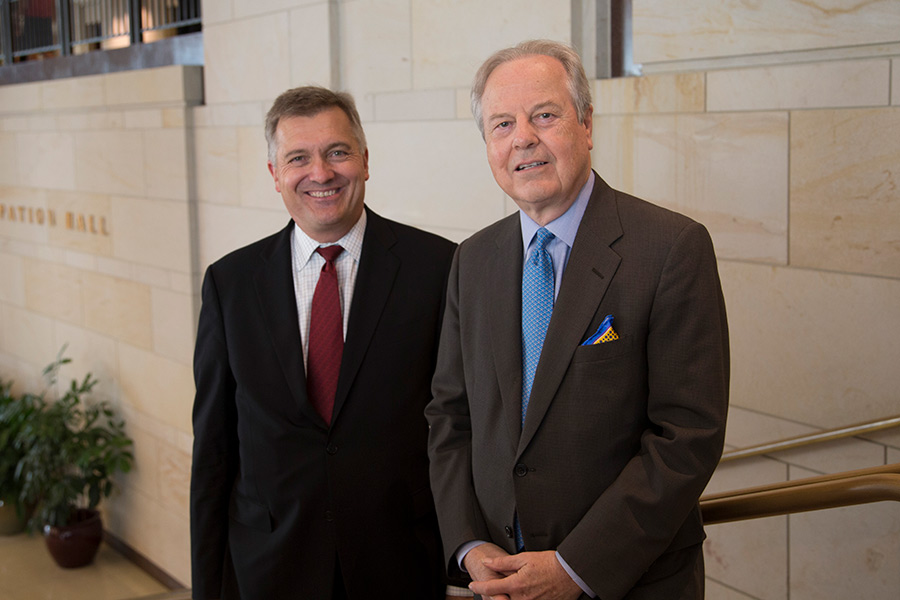 Jim Matheson and Ed Whitfield