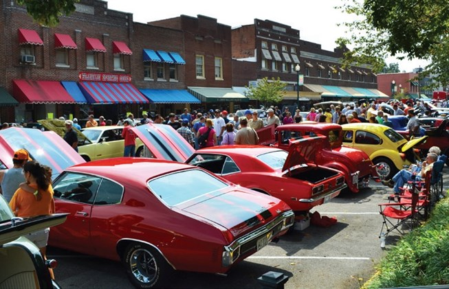Franklin Car Show Kentucky Living - Muscle car shows near me