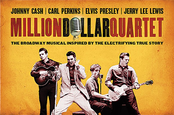 Image result for million dollar quartet""