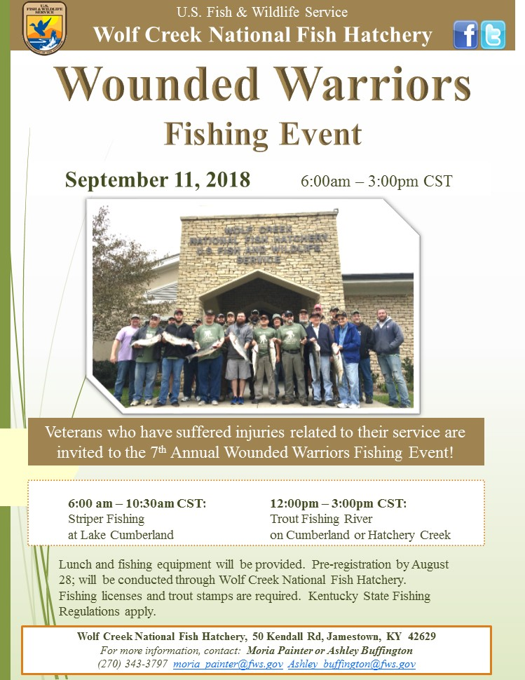 7th annual wounded warriors fishing event - kentucky living