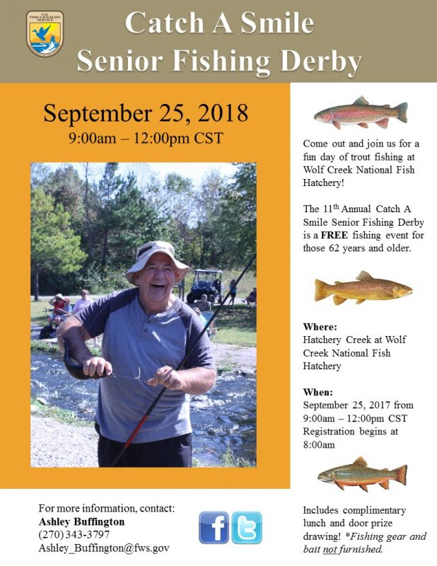 11th Annual Catch a Smile Senior Fishing Derby