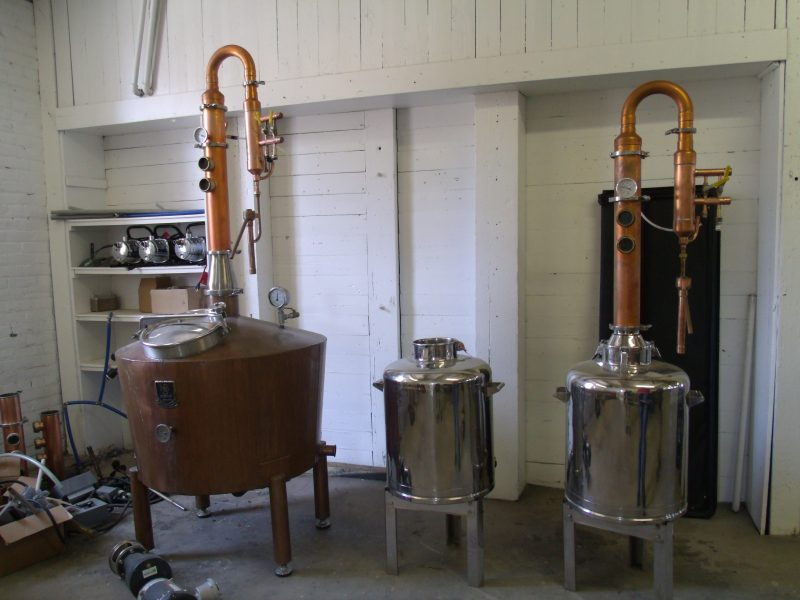 Distilling at the Ranch