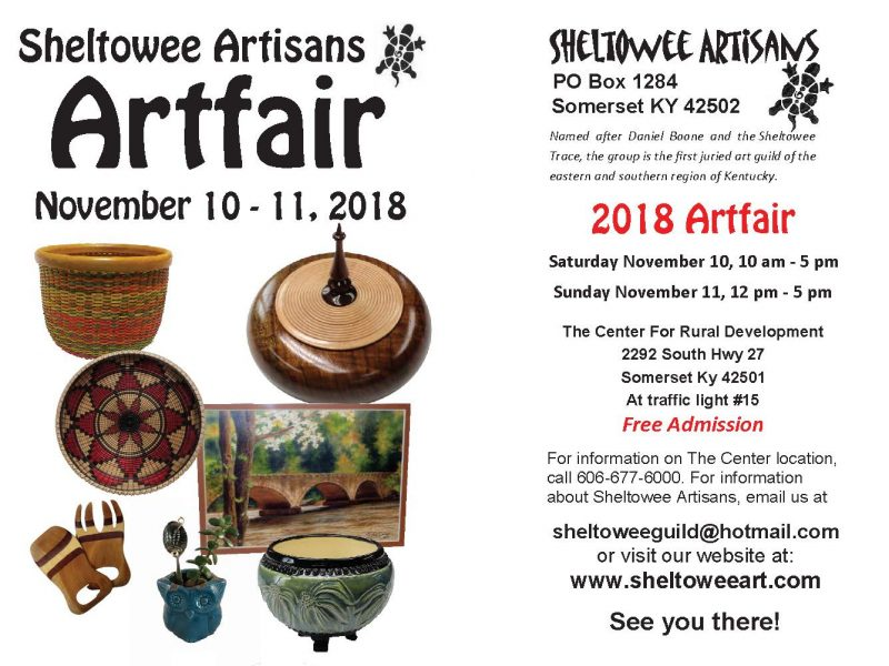Sheltowee Artisans Art Fair