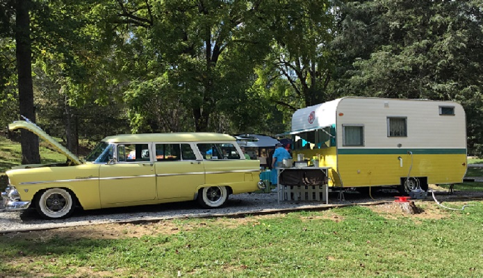 Campin the Cumberland Vintage Camper Rally