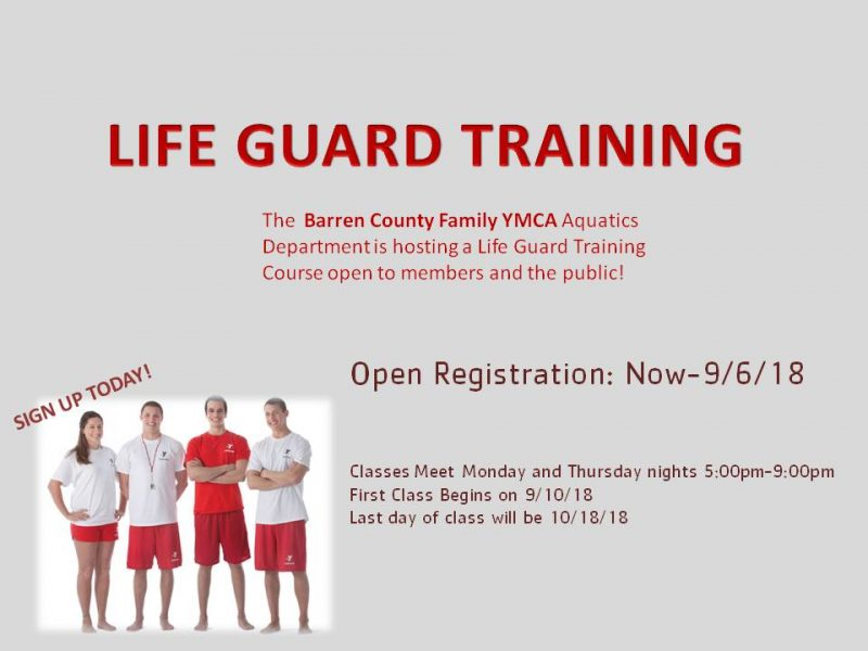Life Guard Training Course