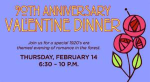 90th Anniversary Valentine Dinner at Bernheim Forest