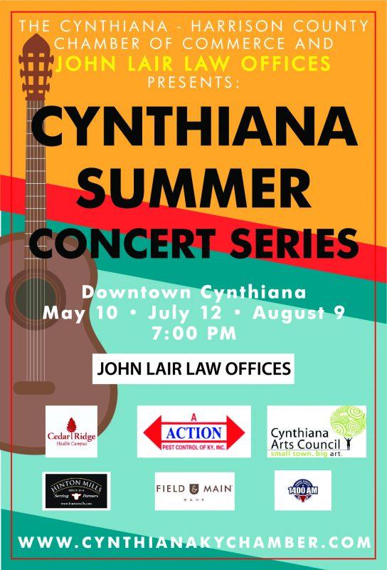 Cynthiana Summer Concert Series