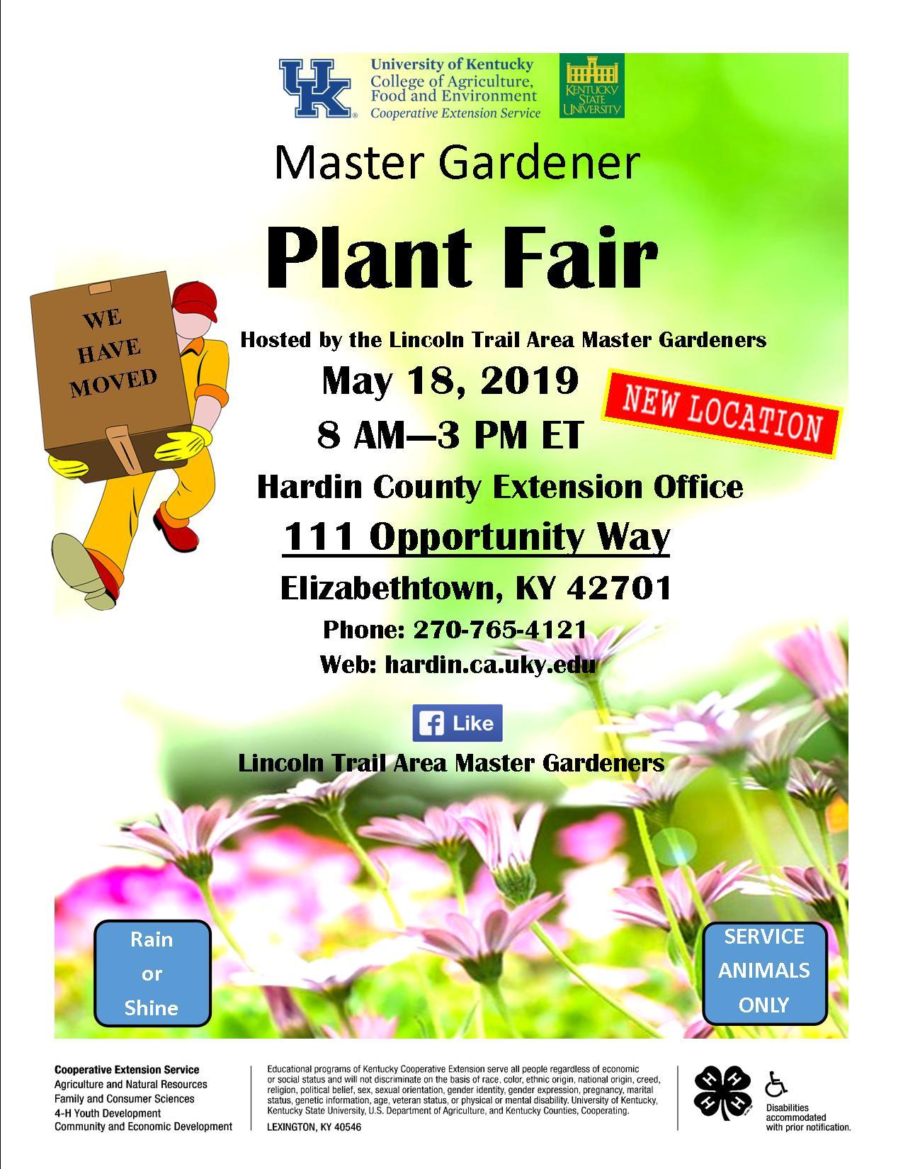 Hardin County Master Gardeners Plant Fair - Kentucky Living