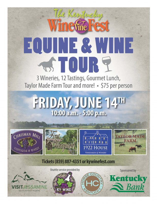 Equine & Wine Tour