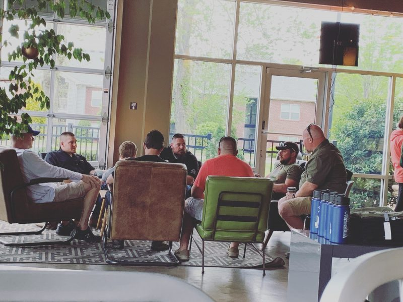 Camaraderie and Coffee with Veteran's Club