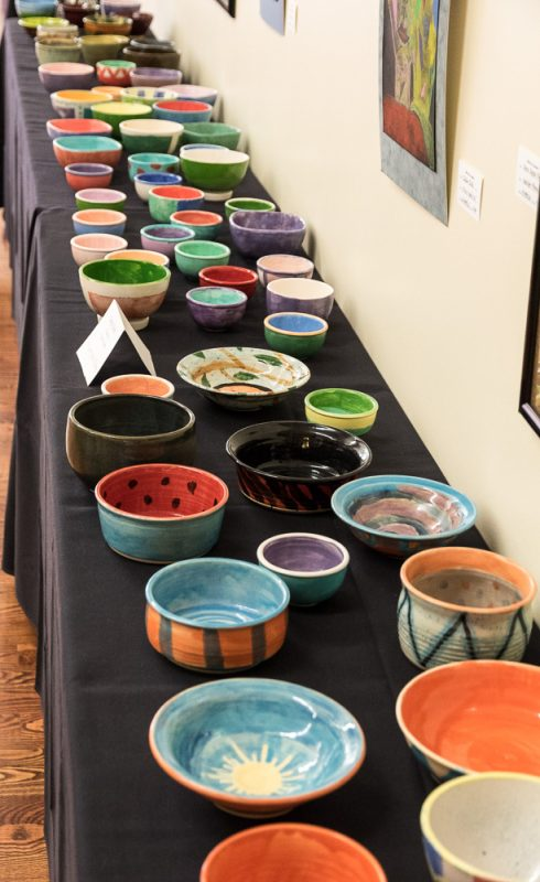 ORVAG Empty Bowls Fundraiser