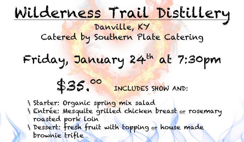 Wilderness Trail Distillery (Danville): Adventure Theatre!