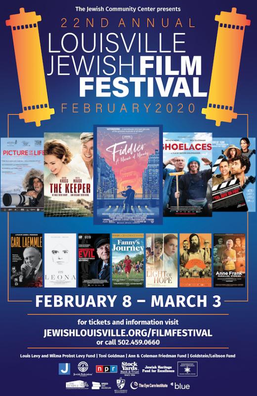 22nd Annual Louisville Jewish Film Festival