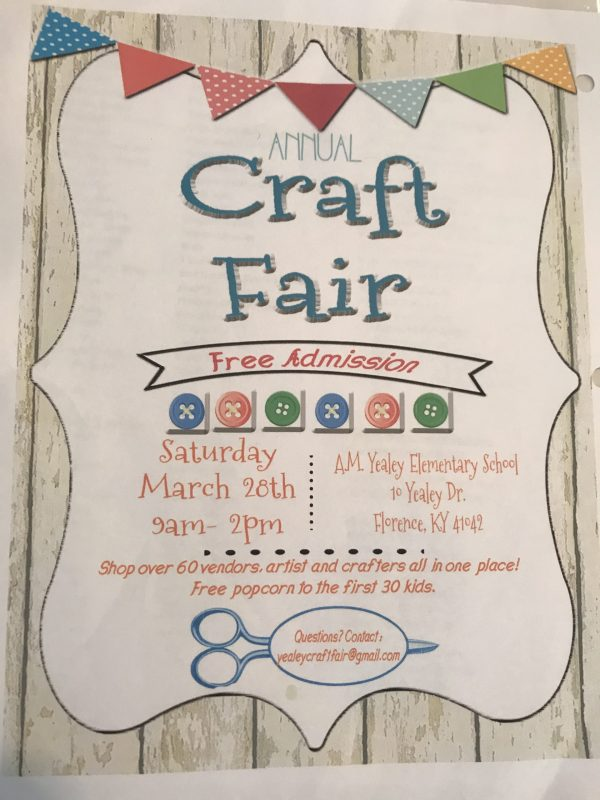 AM Yealey Craft Fair