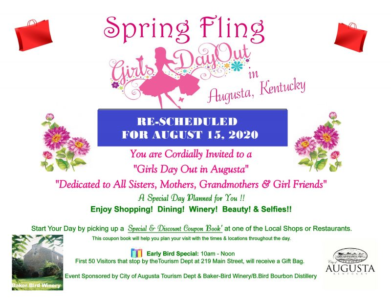 Spring Fling Girls Day Out in Augusta