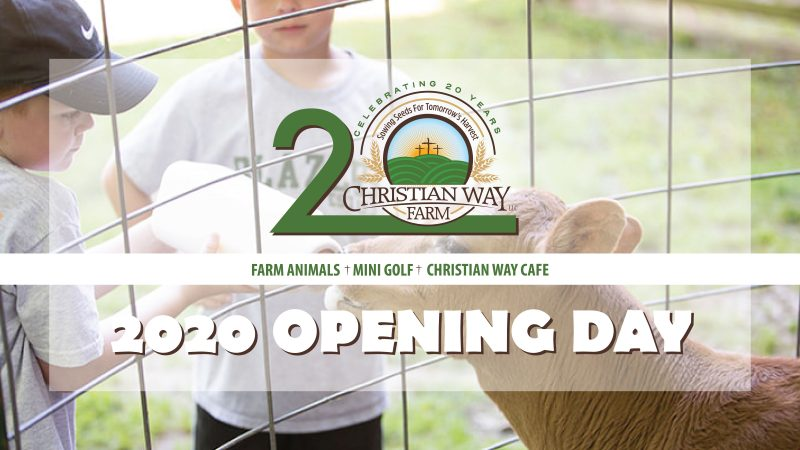 Christian Way Farm and Mini Golf Opening Day