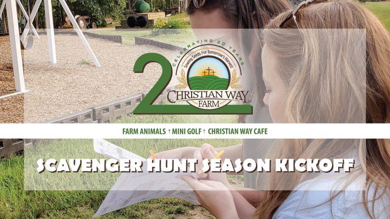 Christian Way Farm Scavenger Hunt Season Kickoff