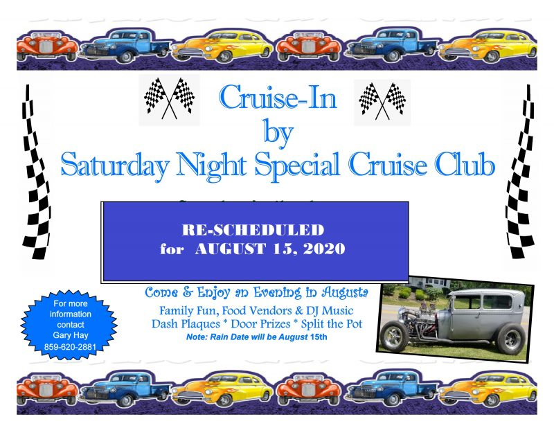 'Cruise-In' by Saturday Night Special Cruise Club