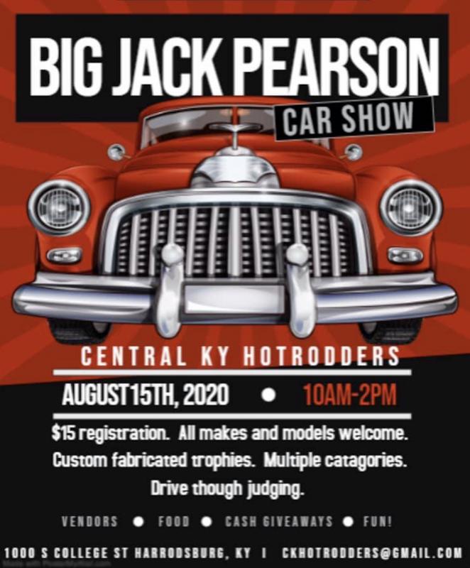 Big Jack Pearson Car Show