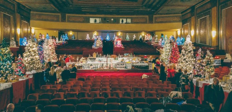 Paramount Arts Center Festival of Trees and Trains