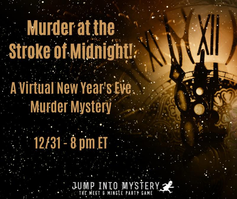Murder at the Stroke of Midnight!