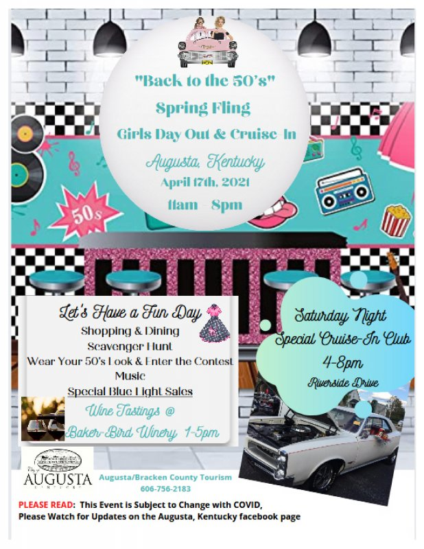 'Back to the 50's Spring Fling Girls Day Out & Cruise-In'