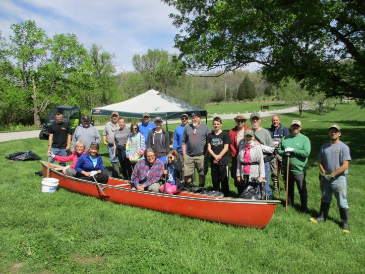 Earth Day Creek Clean Up
