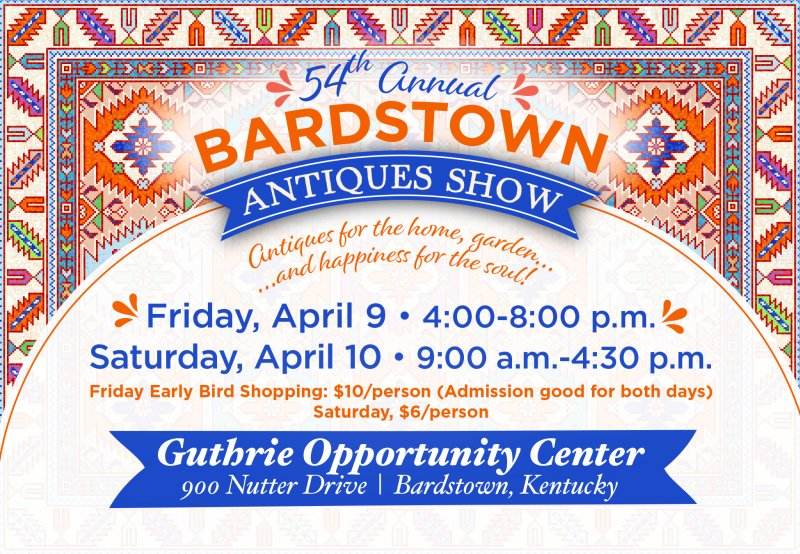 54th Historic Bardstown Antique Show