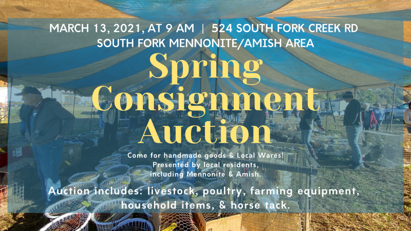 South Fork Spring Consignment Auction