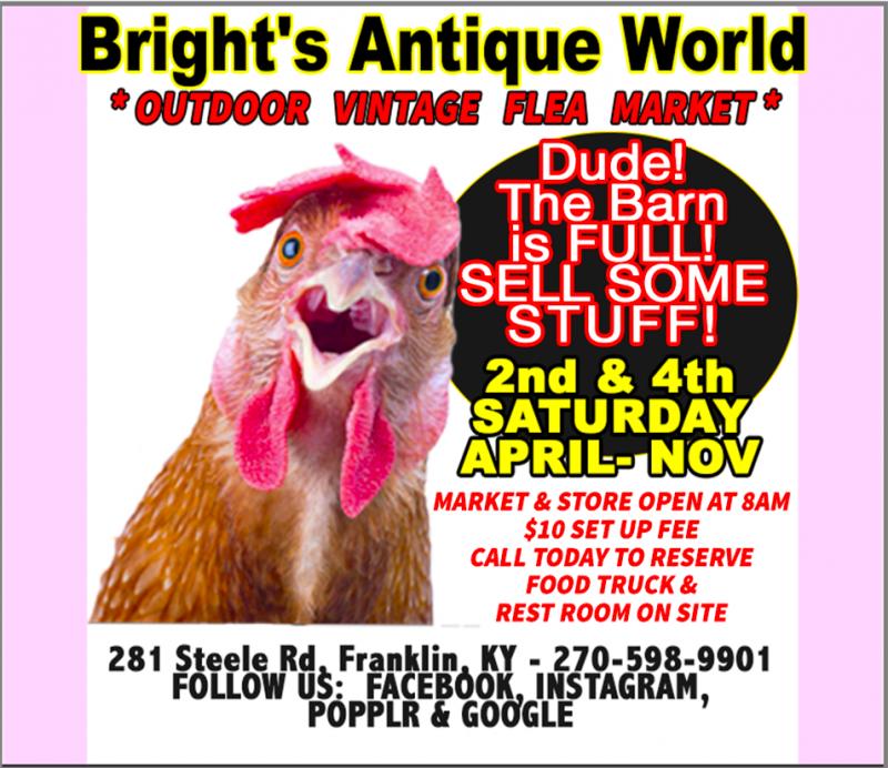 Bright's Antique World Outdoor Vintage Market
