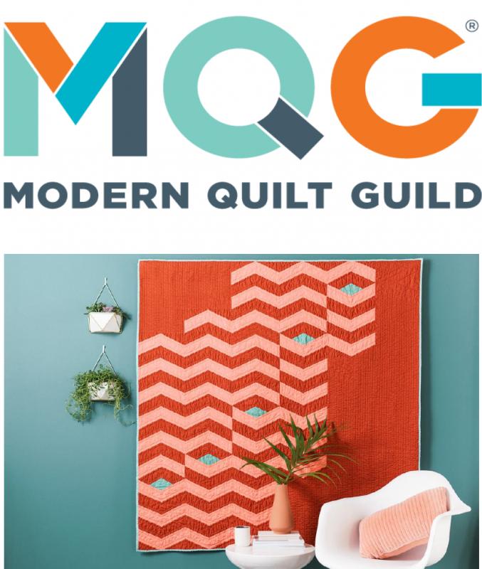 Modern Quilt Guild Retrospective exhibit
