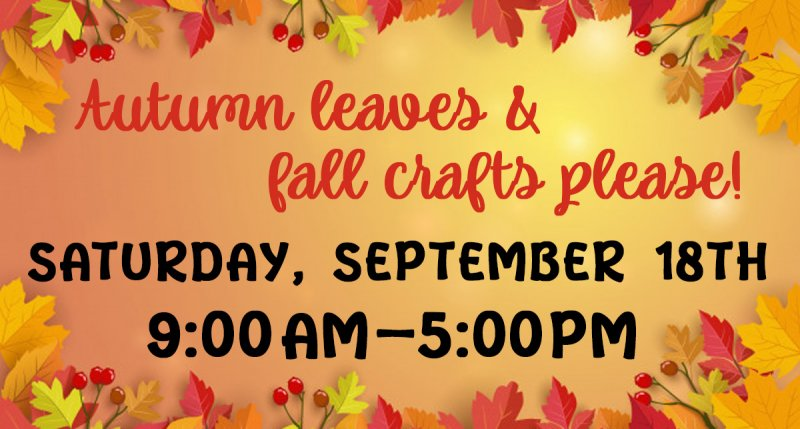 Autumn Leaves and Fall Crafts Please