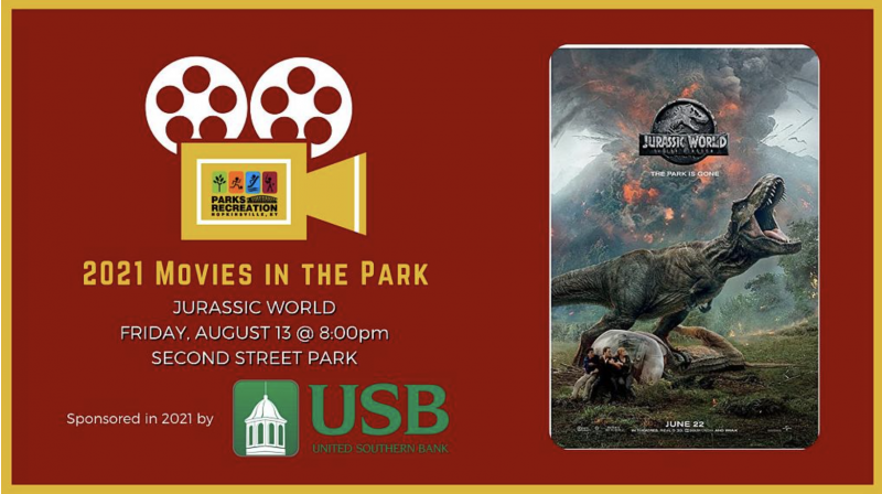Movies in the Park: Jurassic World