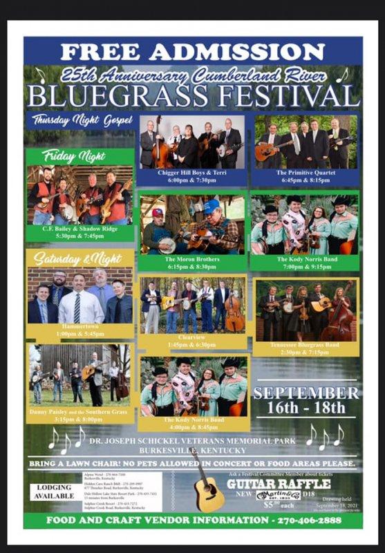 Cumberland River Bluegrass Festival