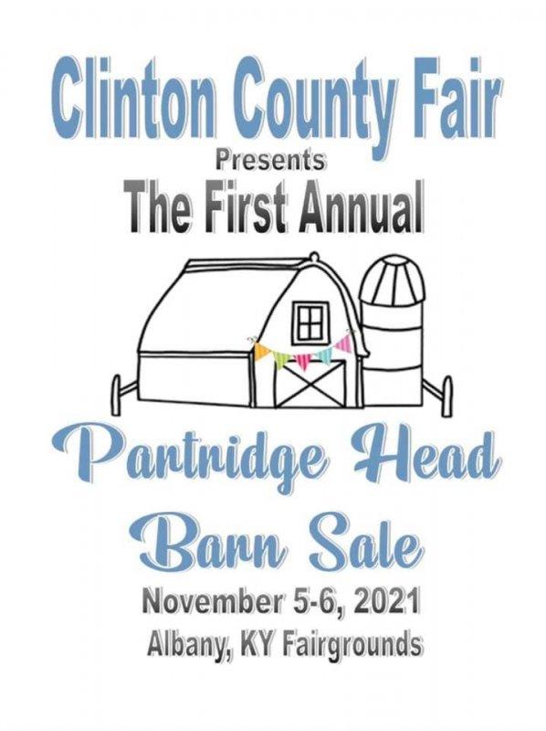 First Annual Partridge Head Barn Sale